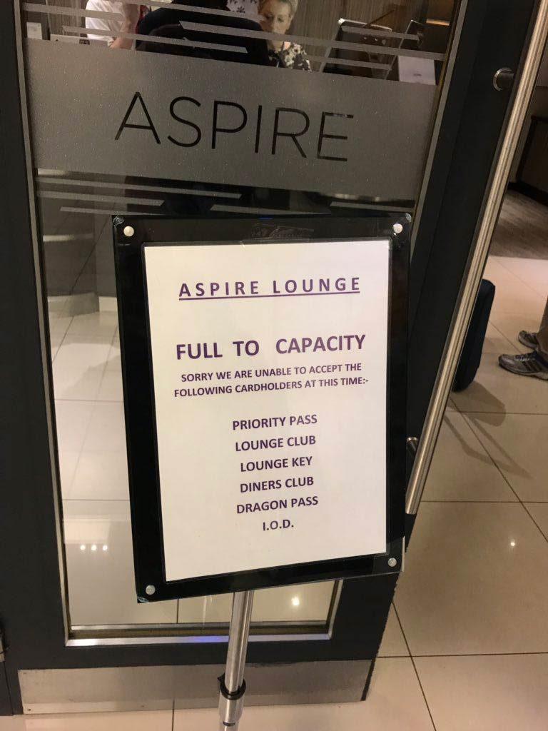PP Reclamacoes Aspire 768x1024 - Aumentam as reclamações por membros Priority Pass barrados em lounges