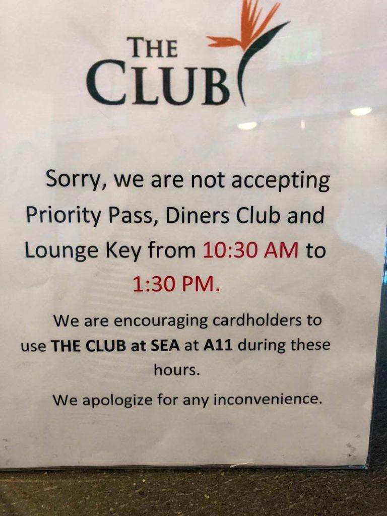 PP Reclamacoes TheClub 768x1024 - Aumentam as reclamações por membros Priority Pass barrados em lounges